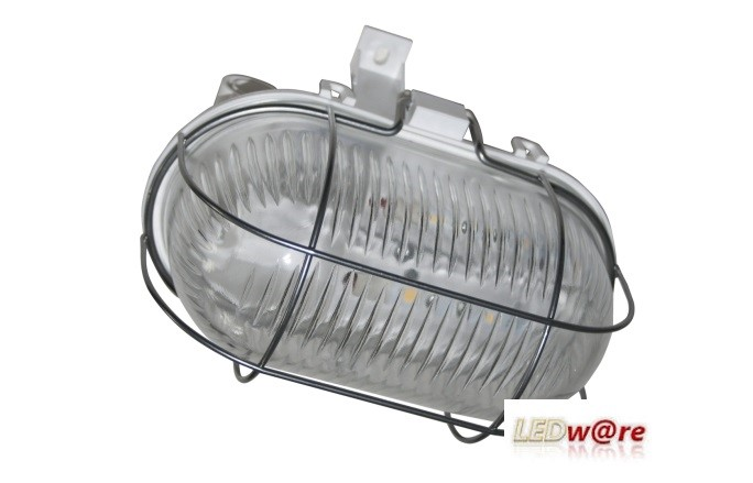 LED Bulleye | Helder | 230V | 3W | VV 12W TL | IP 54 | Portiek | Warm Wit