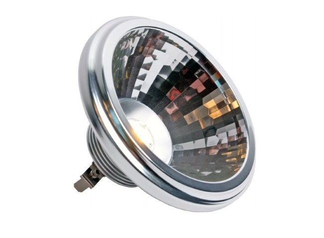 LED Spot (PowerLED) | 12V | 7W | VV 50W | Warm Wit | 7W AR111 Warm-Wit