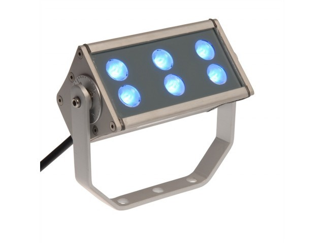 LED Powerbar | 230V | 18W | Blauw