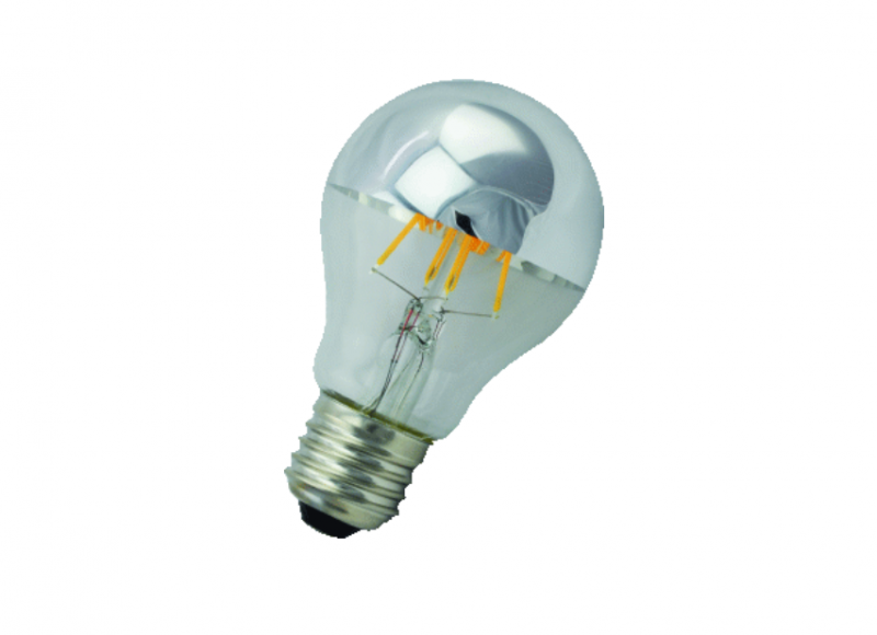 LED Peer | 230V | 4W | 230Lm | Warm Wit | E27 | Spiegel