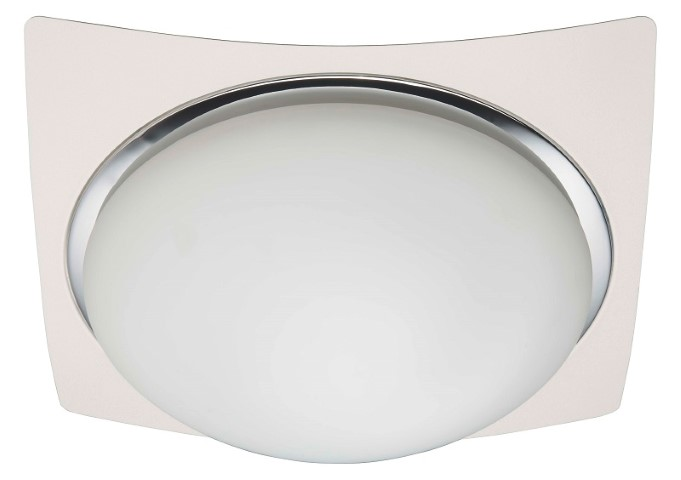 Brilliant Plafonniere / wandlamp | 3 x 5W | 330 x 330mm | LED MAGNOLIA | Wit