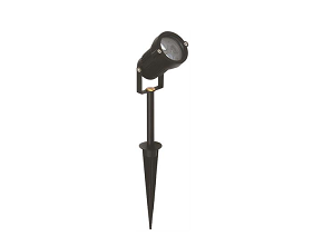 LED Tuinlamp | Spike | 12V | Rond | 1 x 3W | Warm Wit | SPOT III
