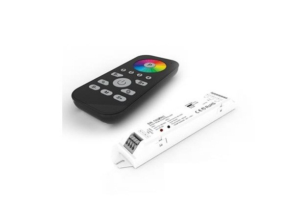 RGBw@re | RGB LED Controller Set | 4 x 96W | 12-36V | met afstandbediening