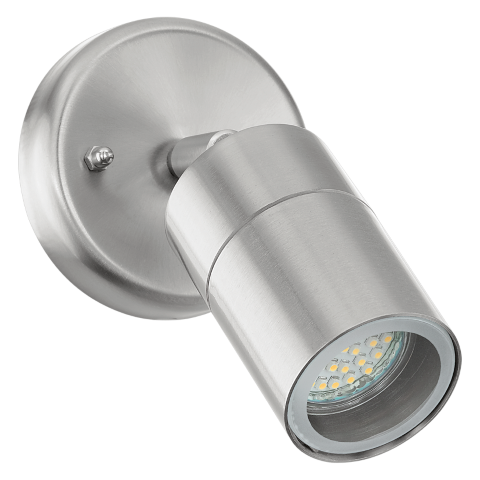 Buitenlamp | Aluminium Spot lamp | Grijs | 65mm | Warm Wit