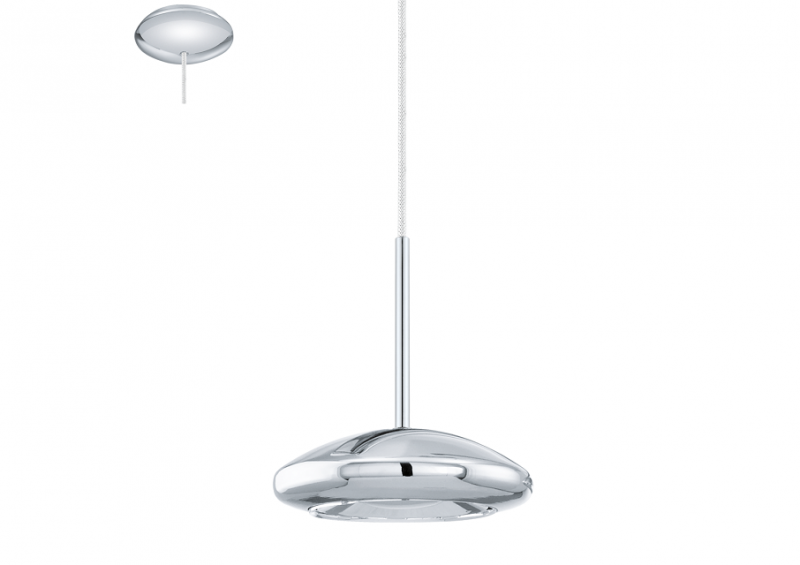 Eglo | Chrome LED Hanglamp | 4,5W | TARUGO