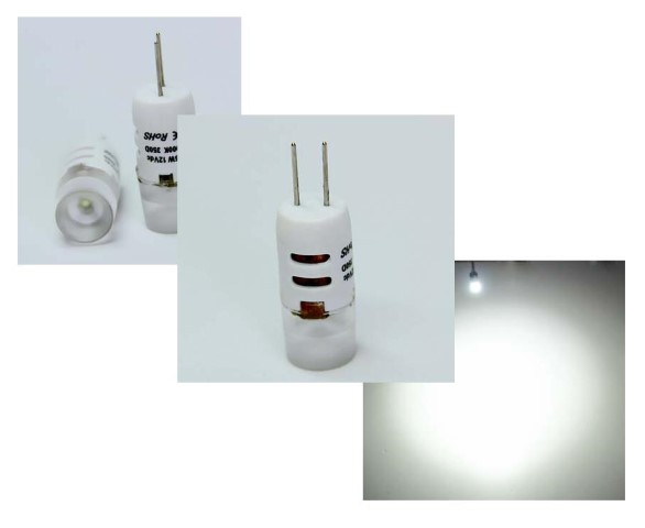 LED steeklampje | 12V | 1,5W | VV 10-15W | Cool Wit | G4 | 110Lm