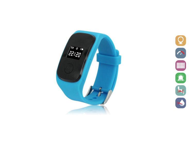 Kids Smartwatch | GPS Tracking | GWSS22BLUE | Blauw