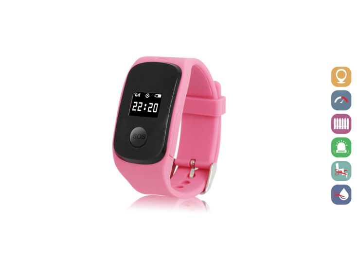 Kids Smartwatch | GPS Tracking | GWSS22PINK | Roze