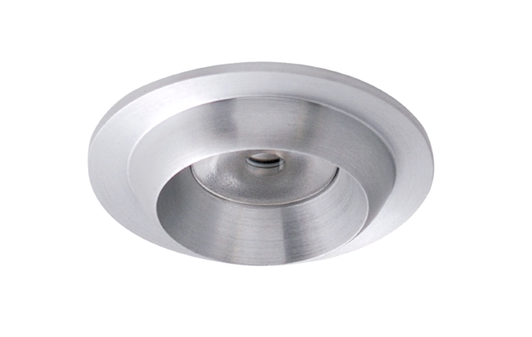 LED inbouwspot | 1 LED | Rond | 3W | 700mA | Warm Wit | LWLDA101D3WWW700 | Alu