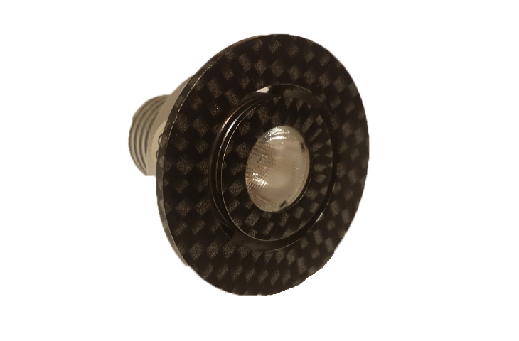 LED inbouwspot | 1 LED | Rond | 3W | 700mA | Warm Wit | LW10PE3WWW700 | CARBON