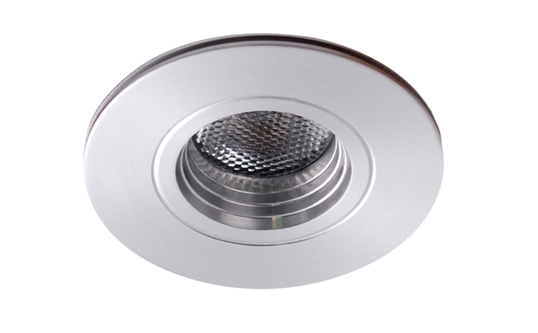LED inbouwspot | 1 LED | Rond | 3W | 700mA | Warm Wit | LWLDA111C3WWW700 | Alu