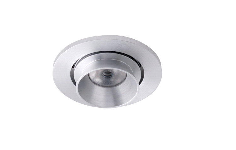 LED inbouwspot | 1 LED | Rond | 3W | 700mA | Warm Wit | LWLDA201F3WWW700