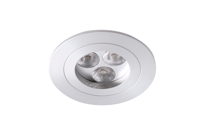 LED inbouwspot | 3 LED | Rond | 9W | 700mA | Warm Wit | WLDA801A04PEWWW700
