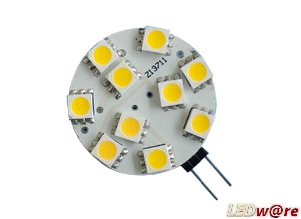 LED steeklampje | 12V | 2W | VV 15W | Warm Wit | G4 | 140Lm