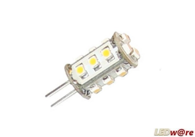 LED steeklampje | 12V | 2W | VV 15W | Warm Wit | G4 | 130Lm