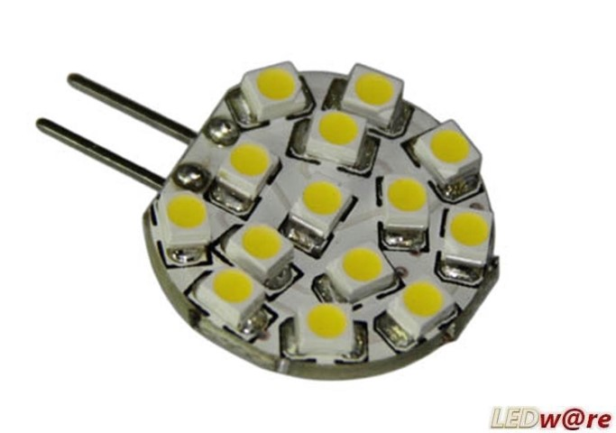 LED steeklampje | 12V | 2,4W | VV 10-15W | Warm Wit | G4 | 170Lm