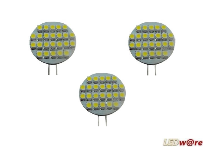 LED steeklampje | Set 3 Stuks | 12V | 2,1W | VV 10-15W | Warm Wit | G4 | 145Lm