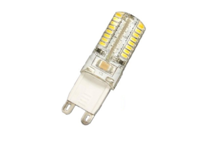 LED steeklampje | 220V | 24 SMD LED | 3W | VV 25W | Warm W