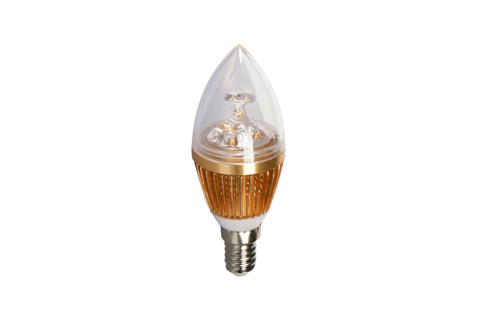 BudgetLine | LED kaars | 230V | 3W | 290Lm | VV 15W | Warm Wit | E14