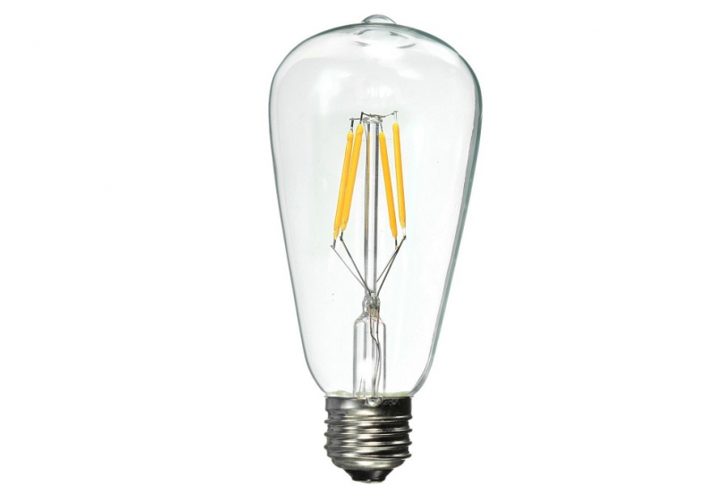 LED Peer | 230V | 6W | 690Lm | VV 60W | Warm Wit | E27 | ST64