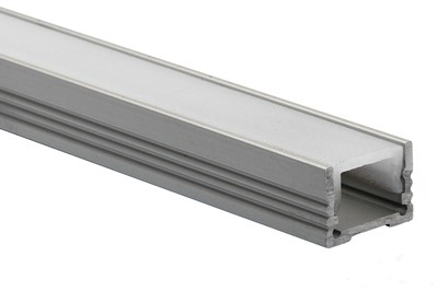 LED Profiel Pro Laag | (HxB) 13mm x 18,4mm | Opaal, PC, UV Best