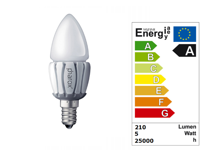 LED Lamp | 230V | 5W | VV 24-40W | Warm Wit | E14 | Candle