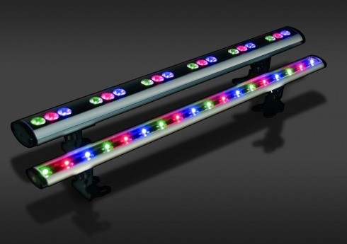 LED Powerbar | 24V | 20W | 18 gekleurde LEDs | Variabel | Color Bar 18 RGB
