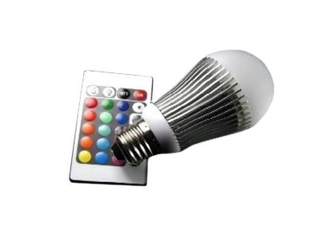 LED Lamp | 230V | 6W | RGB | E27