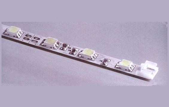 LED strip vast | 12V | 4,8W | 30 LEDs | 0,5M | Blauw