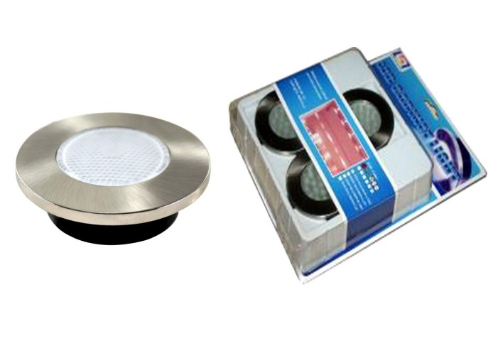 LED inbouwspot | 2 LED spots | 130Lm | Doe Het Zelf LED Kit | Warm Wit | 839A