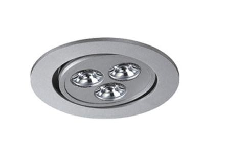 LED inbouwspot | 3 LED | Rond | 3 x 1W | 350mA | Warm Wit | LW302A40WW350