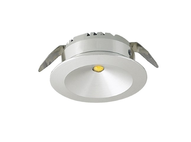 LED inbouwspot | 1 LED | Rond | 3W | 700mA | Warm Wit | LW101AC3WWW700 | Alu