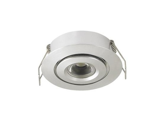 LED inbouwspot | 1 LED | Rond | 3W | 700mA | Warm Wit | LW105AC3WWW700 | Alu