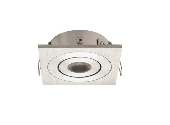 LED inbouwspot | 1 LED | Vierkant | 3W | 700mA | Warm Wit | LWD3W201WW700