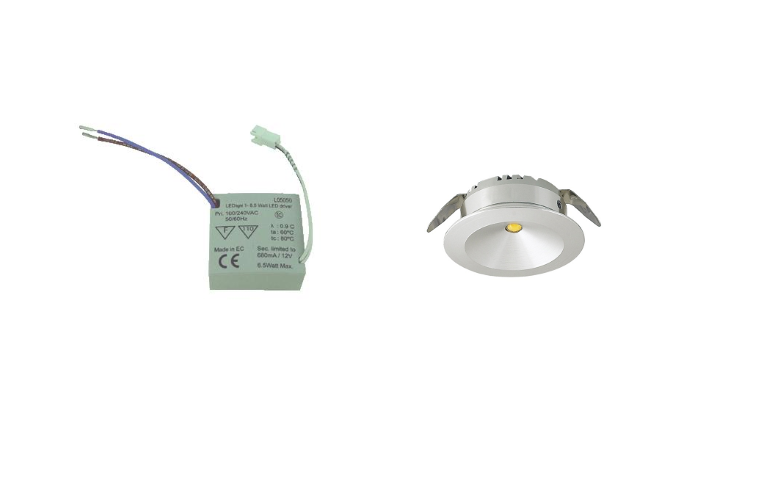 LED inbouwspot ND | 1 LED spots | 180Lm | Doe Het Zelf LED Kit | Warm Wit | 101