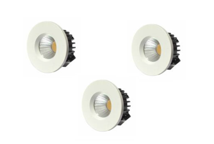 LED inbouwspot | 3 LED spots | 210Lm | Doe Het Zelf LED Kit | Warm Wit | D0307