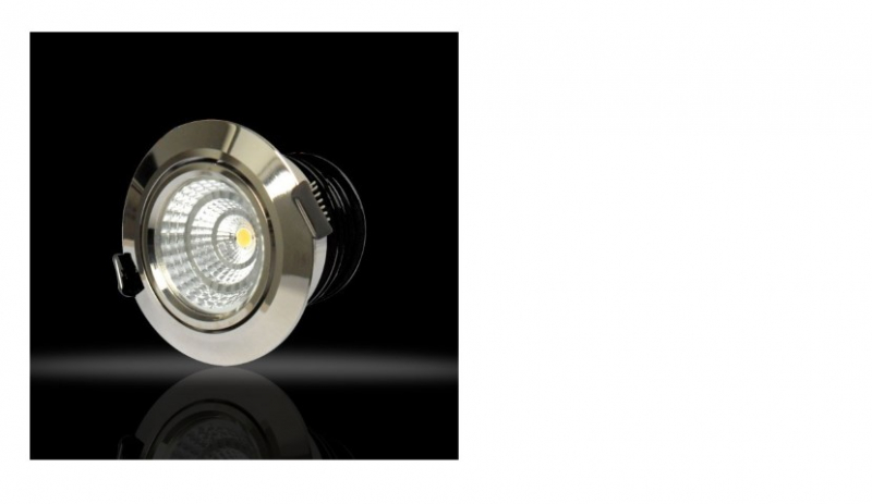 LED inbouwspot | 3 LED spots | 380Lm | Doe Het Zelf LED Kit | Warm Wit | Chroom