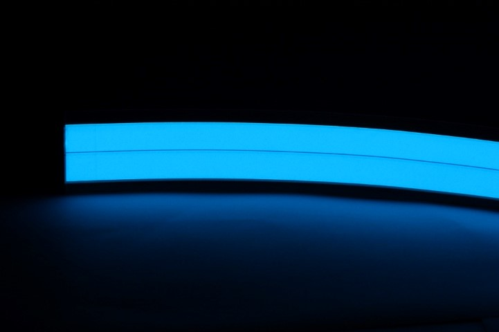 Ultradunne LEDstrip | 4W | 1 LED | 1M | Electric Blue