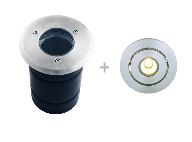 LED Grondspot | 230V | + LED module | warm wit | L05486 + L05420WW
