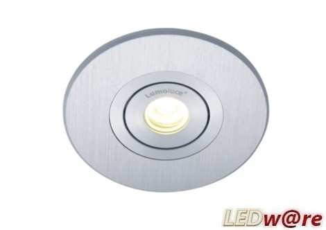 LED inbouwplaat | 1 LEDs | Rond | Lumoluce R80