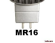 LED spots MR16 en GU5,3