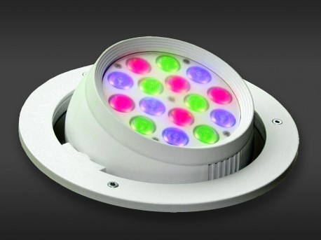LED Powerbar | 24V | 18W | 15 gekleurde LEDs | Variabel | Color Pod 15