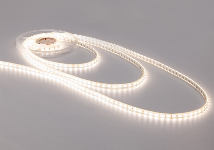 LED Strip 5mm | 15 LED's | Warm Wit | 7cm | 24V