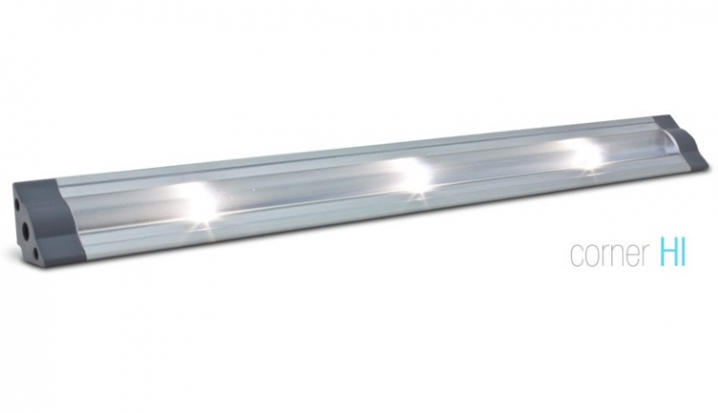 LED Strip | Hoek | Type CORNER HI | 30,5cm | Warm Wit | 24V