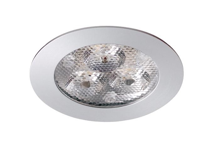 LED inbouwspot | 3 LED | Rond | 3,6W | 350mA | Warm Wit | LW302A-03PEWW