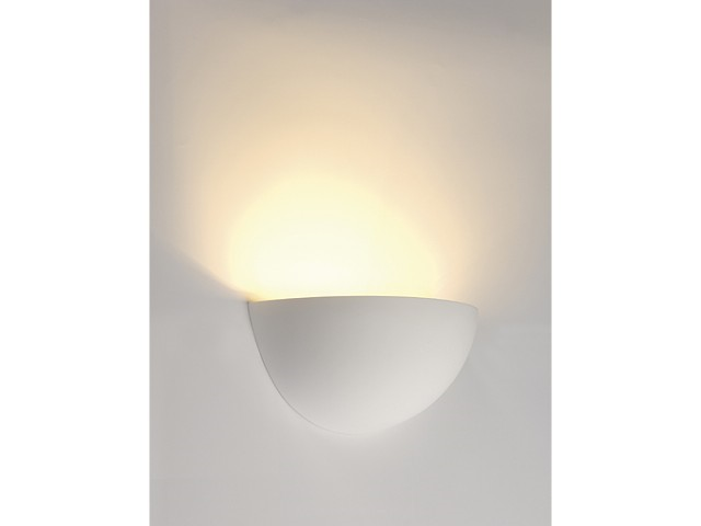 LED Wandlamp | GL 101 Gips | 1 x 3W | Warm Wit
