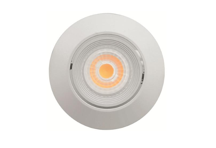 Malmbergs | LED inbouwspot | 1 LEDs | Rond | 6W | Warm Wit (2700k) | Zilver | MD-69