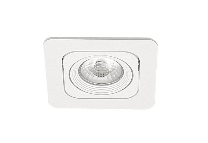 Malmbergs | LED inbouwspot | 1 LEDs | Rond | 6W | Warm Wit (2700k) | Wit | MD-125
