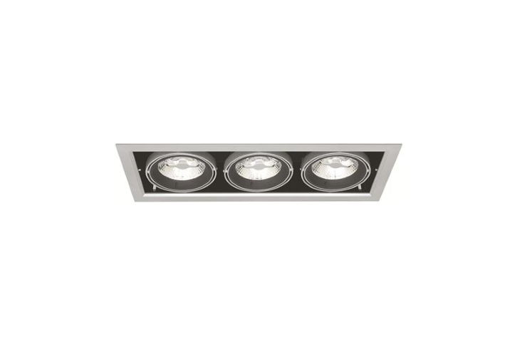 Driebubbel LED Downlight | 220V | 3 x 10W | Warm Wit | MD-250
