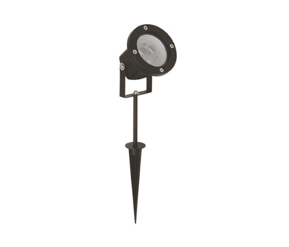 LED Tuinlamp | Spike | 12V | Rond | 1 x 3W | Warm Wit | SPOT II